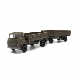 Barreiros military with trailer