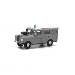 Land Rover largo Police Armée