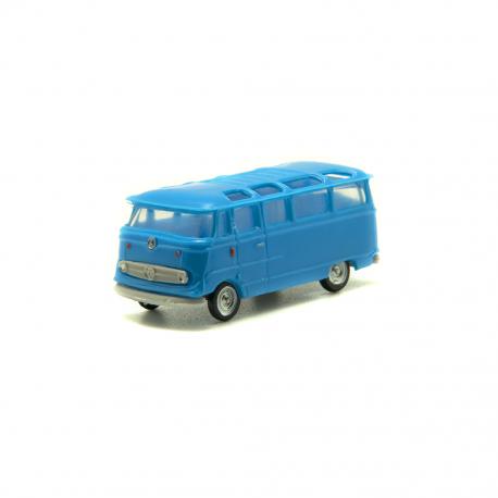 Mercedes Benz microbús Azul