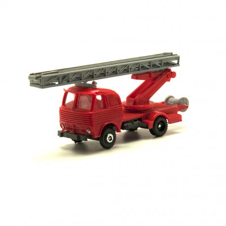 Pegaso Barajas bomberos con escalera