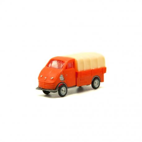 DKW F89 Butano con toldo Naranja