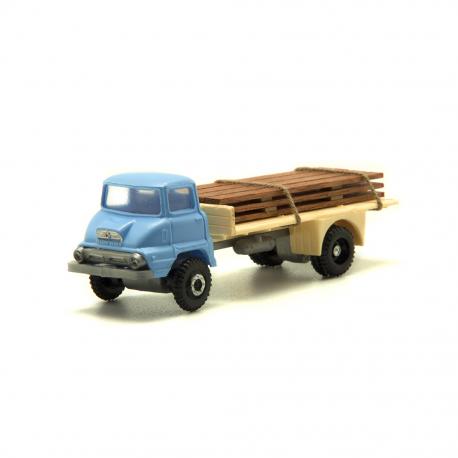 Ford Thames transporte madera Azul