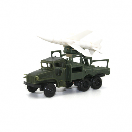 Camión GMC 2,5 Tn lanzacohetes