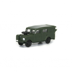 Land Rover largo militar