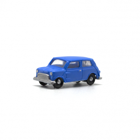 Mini Morris Azul