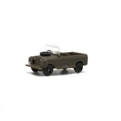 Land Rover corto Militär