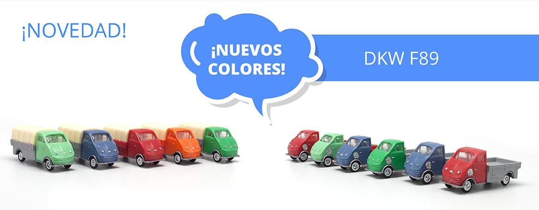 Nuevos colores DKW F89