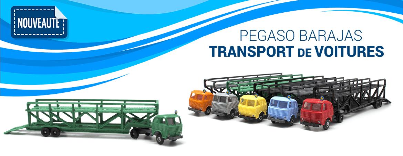 Pegaso Barajas transport de voitures
